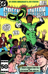 Cover for Green Lantern (DC, 1976 series) #188 [Direct Sales]