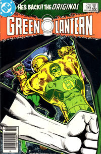 Cover Thumbnail for Green Lantern (DC, 1976 series) #199 [Newsstand Edition]