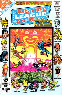 Cover Thumbnail for Justice League of America (DC, 1960 series) #208 [Direct]