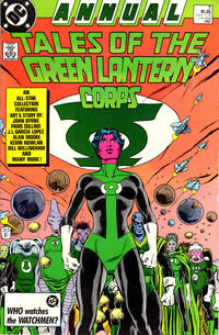 Cover Thumbnail for Green Lantern Annual (DC, 1987 series) #3 [Direct]