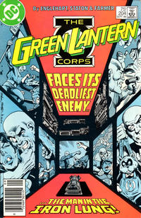 Cover Thumbnail for Green Lantern (DC, 1960 series) #204 [Newsstand]