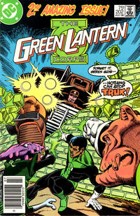 Cover for Green Lantern (DC, 1976 series) #202 [Newsstand Edition]