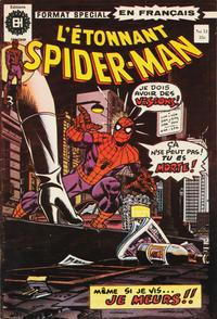 Cover Thumbnail for L'Étonnant Spider-Man (Editions Héritage, 1969 series) #51