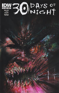 Cover Thumbnail for 30 Days of Night (IDW, 2011 series) #2 [Cover B Sam Kieth]