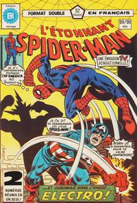 Cover Thumbnail for L'Étonnant Spider-Man (Editions Héritage, 1969 series) #89/90