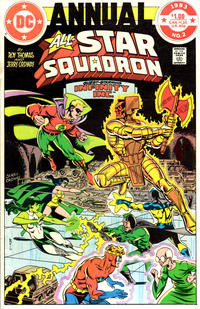 Cover Thumbnail for All-Star Squadron Annual (DC, 1982 series) #2 [Direct]