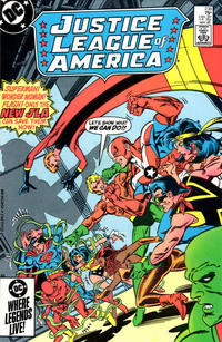 Cover Thumbnail for Justice League of America (DC, 1960 series) #238 [Direct Sales]