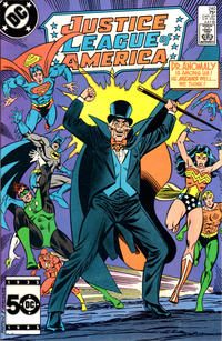 Cover Thumbnail for Justice League of America (DC, 1960 series) #240 [Direct Sales]