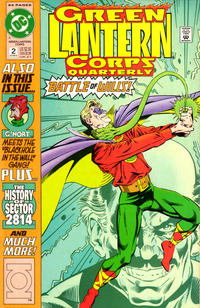 Cover Thumbnail for Green Lantern Corps Quarterly (DC, 1992 series) #2 [Direct]