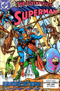 Cover Thumbnail for Adventures of Superman (DC, 1987 series) #460 [Direct]