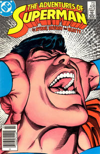Cover Thumbnail for Adventures of Superman (DC, 1987 series) #438 [Newsstand Edition]