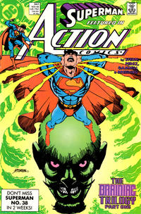 Cover Thumbnail for Action Comics (DC, 1938 series) #647 [Direct]
