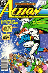 Cover Thumbnail for Action Comics (DC, 1938 series) #596 [Newsstand]