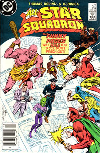 Cover Thumbnail for All-Star Squadron (DC, 1981 series) #64 [Newsstand]