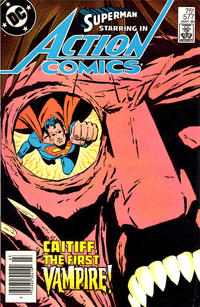 Cover for Action Comics (DC, 1938 series) #577 [Direct Sales]