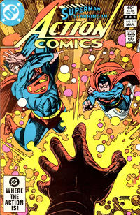 Cover Thumbnail for Action Comics (DC, 1938 series) #541 [Direct]