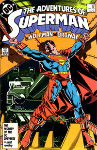 Cover Thumbnail for Adventures of Superman (DC, 1987 series) #425 [Direct]