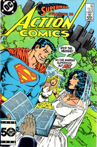 Cover Thumbnail for Action Comics (DC, 1938 series) #567 [Direct]