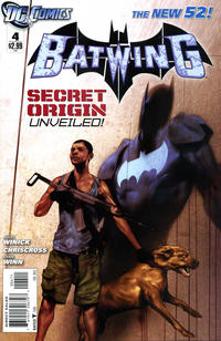 Cover Thumbnail for Batwing (DC, 2011 series) #4