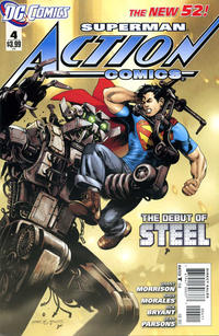 Cover Thumbnail for Action Comics (DC, 2011 series) #4