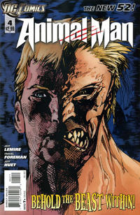 Cover Thumbnail for Animal Man (DC, 2011 series) #4