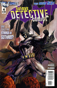 Cover Thumbnail for Detective Comics (DC, 2011 series) #4 [Direct Sales]