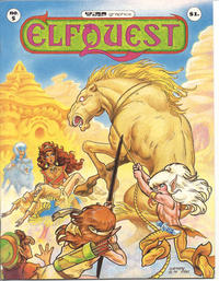 Cover for ElfQuest (WaRP Graphics, 1978 series) #5 [$1.00 first printing]
