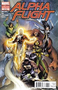 Cover Thumbnail for Alpha Flight (Marvel, 2011 series) #6