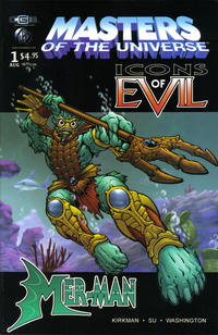 Cover Thumbnail for Masters of the Universe, Icons of Evil: Mer-Man (CrossGen, 2003 series)