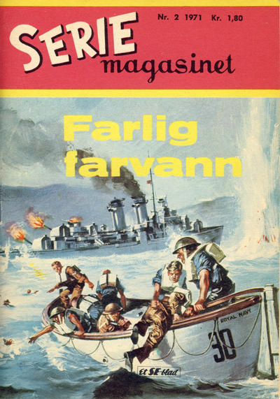 Cover for Seriemagasinet (Serieforlaget / Se-Bladene / Stabenfeldt, 1951 series) #2/1971