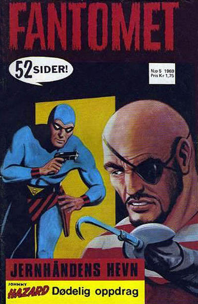 Cover for Fantomet (Romanforlaget, 1966 series) #5/1969
