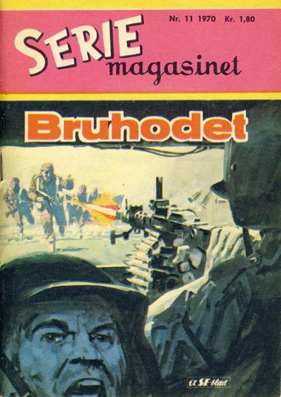 Cover for Seriemagasinet (Serieforlaget / Se-Bladene / Stabenfeldt, 1951 series) #11/1970