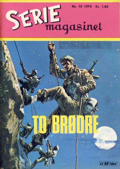 Cover for Seriemagasinet (Serieforlaget / Se-Bladene / Stabenfeldt, 1951 series) #10/1970