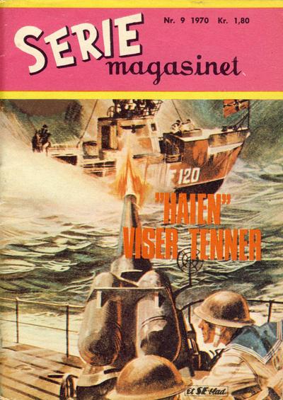 Cover for Seriemagasinet (Serieforlaget / Se-Bladene / Stabenfeldt, 1951 series) #9/1970