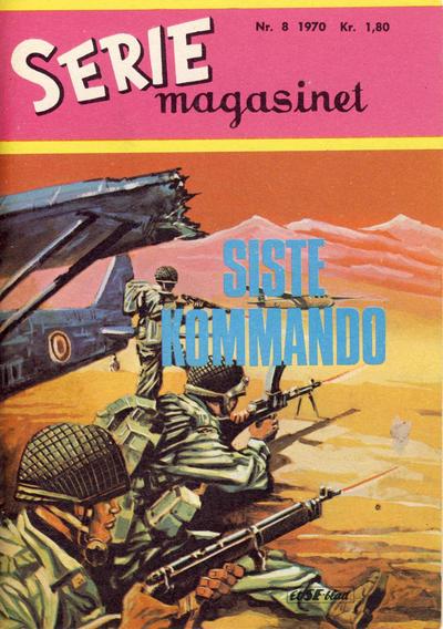 Cover for Seriemagasinet (Serieforlaget / Se-Bladene / Stabenfeldt, 1951 series) #8/1970