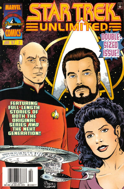 Cover for Star Trek Unlimited (Marvel, 1996 series) #2 [Direct Edition]