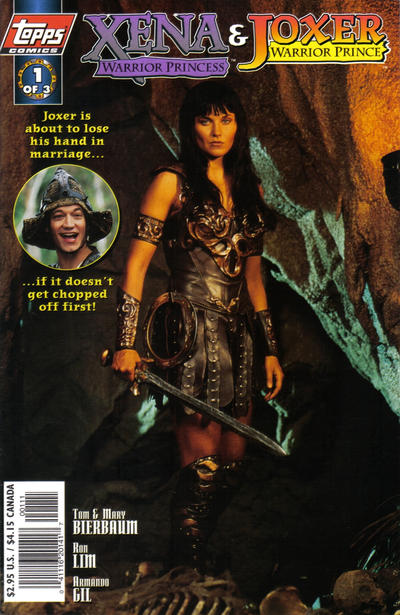 Cover for Xena: Warrior Princess/Joxer: Warrior Prince (Topps, 1997 series) #1