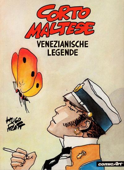 Cover for Corto Maltese (Carlsen Comics [DE], 1981 series) #[7] - Venezianische Legende