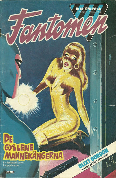 Cover for Fantomen (Semic, 1963 series) #18/1978