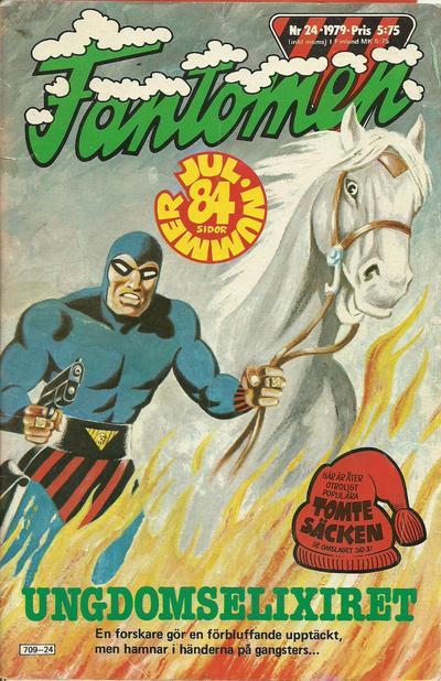 Cover for Fantomen (Semic, 1963 series) #24/1979