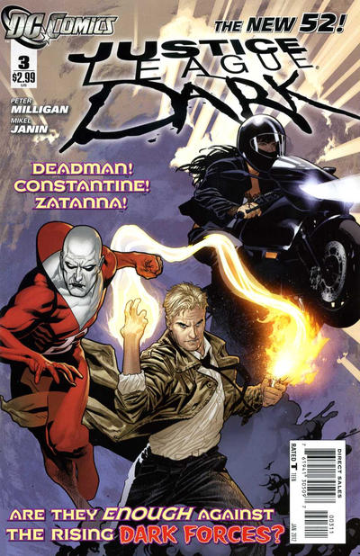 Cover for Justice League Dark (DC, 2011 series) #3
