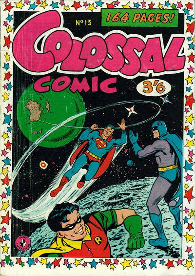 Cover for Colossal Comic (K. G. Murray, 1958 series) #13