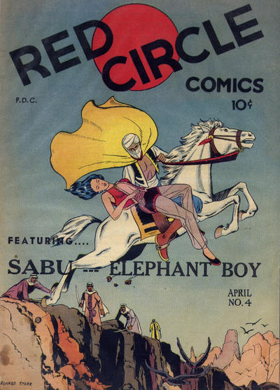 Cover for Red Circle Comics (Rural Home, 1945 series) #4 [Sabu Contents]