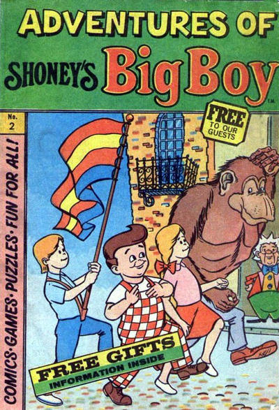 Cover for Adventures of Big Boy (Paragon Products, 1976 series) #2
