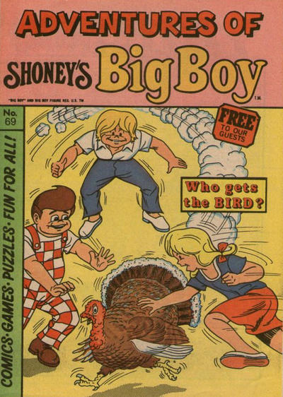 Cover for Adventures of Big Boy (Paragon Products, 1976 series) #69
