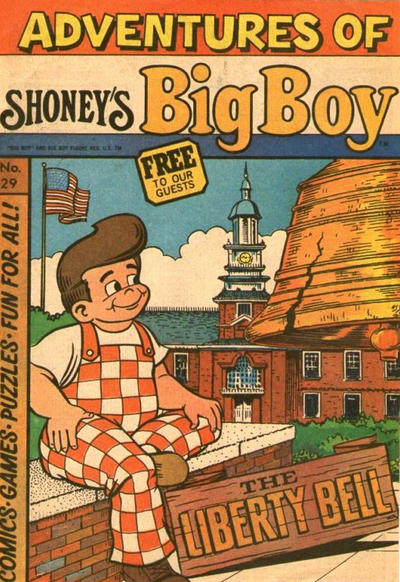 Cover for Adventures of Big Boy (Paragon Products, 1976 series) #29