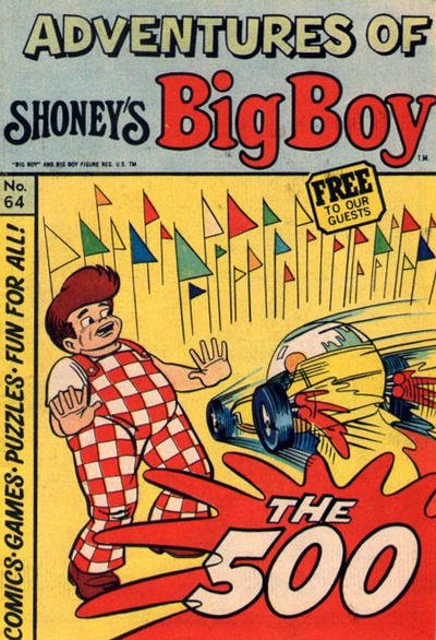 Cover for Adventures of Big Boy (Paragon Products, 1976 series) #64