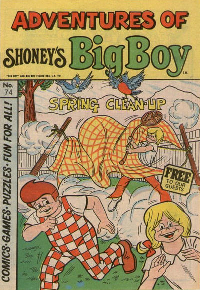 Cover for Adventures of Big Boy (Paragon Products, 1976 series) #74