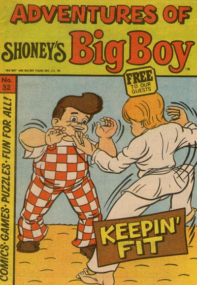 Cover for Adventures of Big Boy (Paragon Products, 1976 series) #32