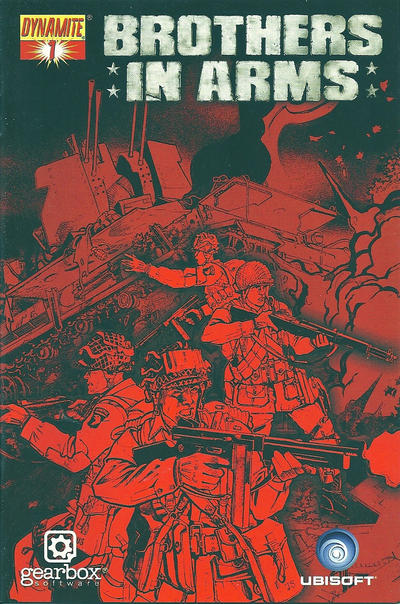 Cover for Brothers in Arms Special Edition (Dynamite Entertainment, 2008 series) #1